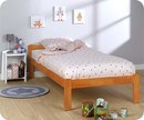 Lit Enfant Beddy Vernis Naturel 90x190 cm