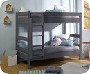 Lit Enfant Superposé Wood Gris Anthracite 90x190 cm